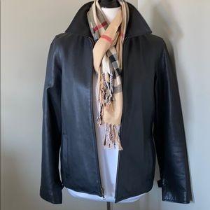 {Eddie Bauer} Stine Leather Jacket, like new